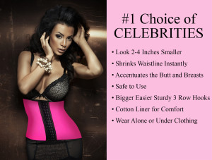 Number One Choice Of Celebrities Waist Cincher