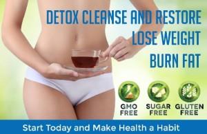 Detox Cleanse Probiotic Tea with GanedenBC30
