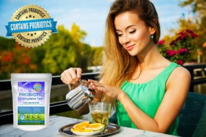 Enjoy Probiotic Tea with GanedenBC30