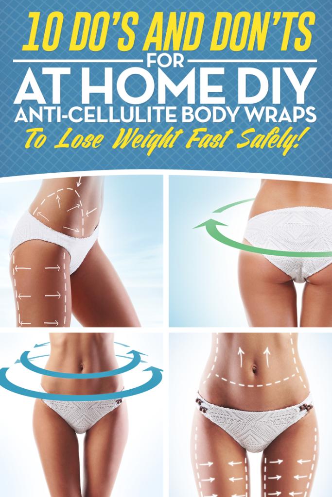DIY Anti Cellulite Body Wraps