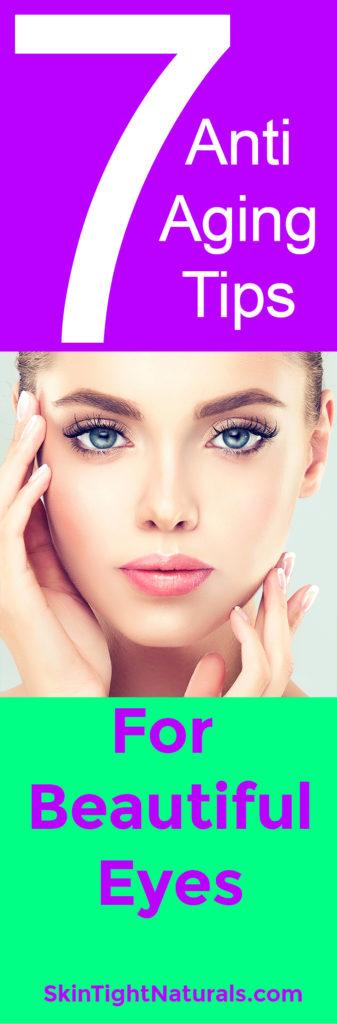 7 anti aging tips beautiful-eyes