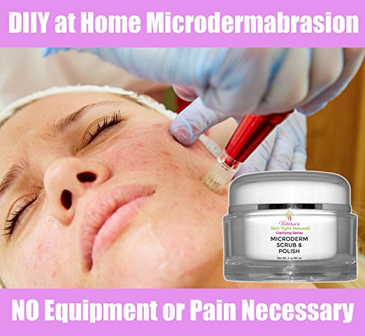 Fight wrinkles brown spots DIY microdermabrasion micro peel