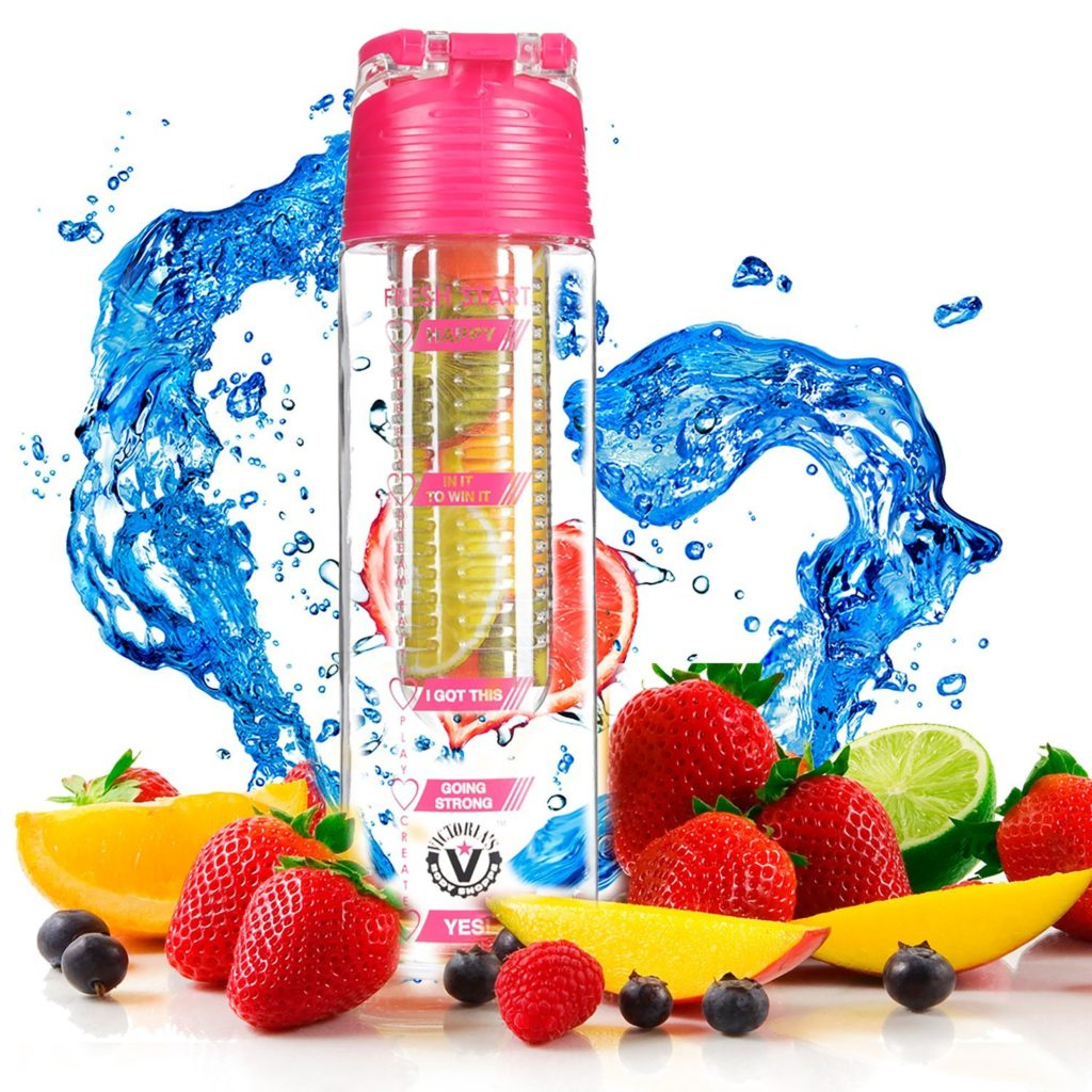 Fruit in your water makes your water super SKINNY! Woohoo! water infuser bottle, fruity water, sports water bottle