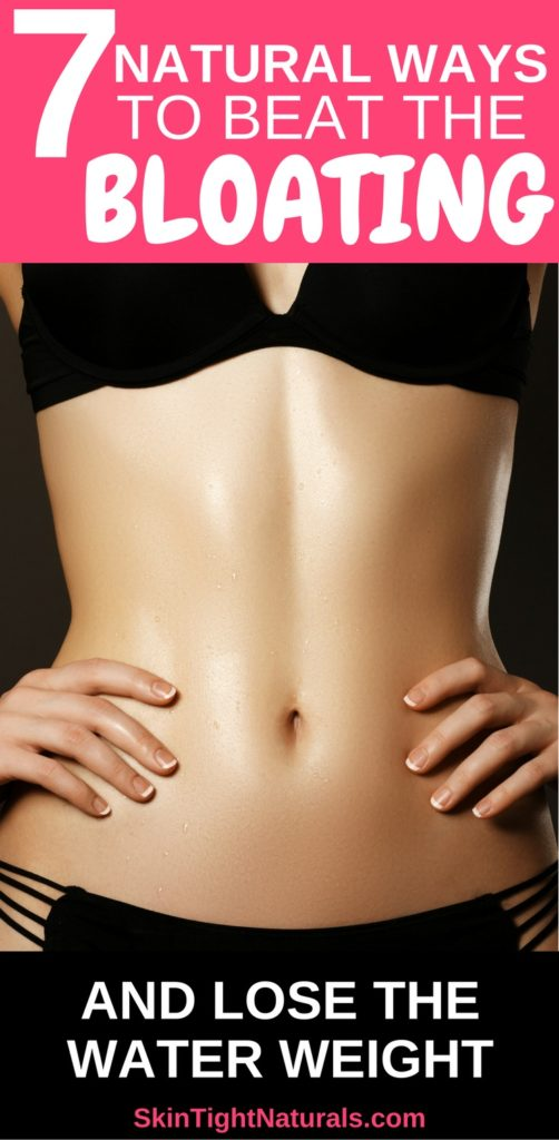 How To Beat Bloating & Get Rid Of Water Retention