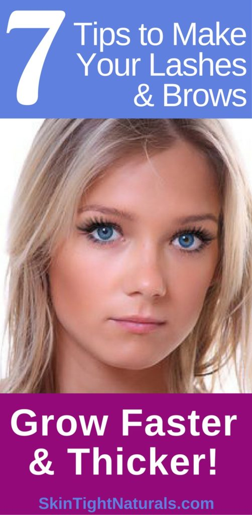 How To Grow Longer Perfect Eyelashes & Brows
