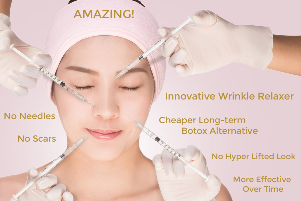 anti wrinkle massage techniques